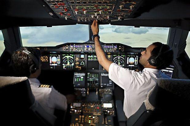 Трудная работа летчиков