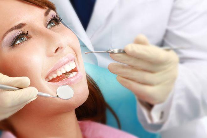 Работа стоматолога
