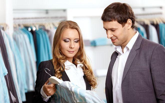 Продавец-консультант в магазине одежды