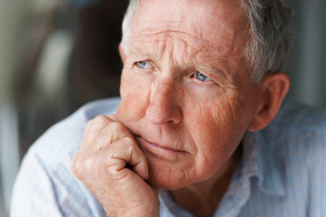 Пожилой мужчина