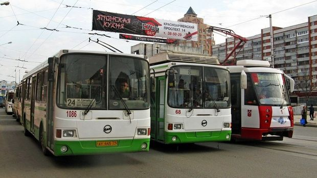 Городской общественный транспорт