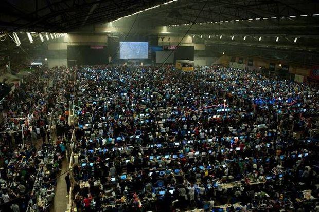 Популярность киберспорта