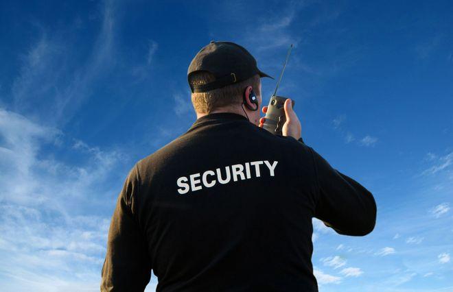 Профессия охранник