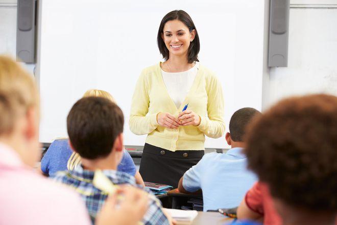 Учитель в работе