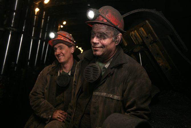 Профессия шахтер