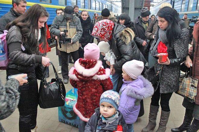 Семьи беженцев