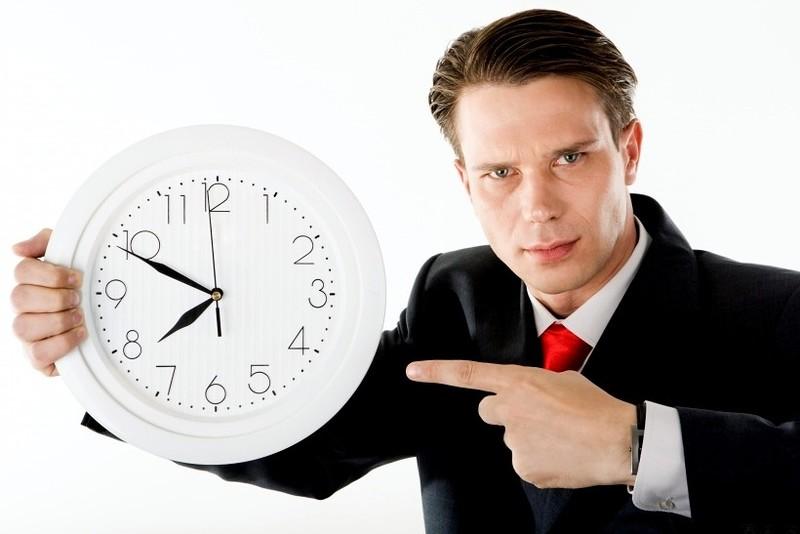 Нет времени сдать отчёт