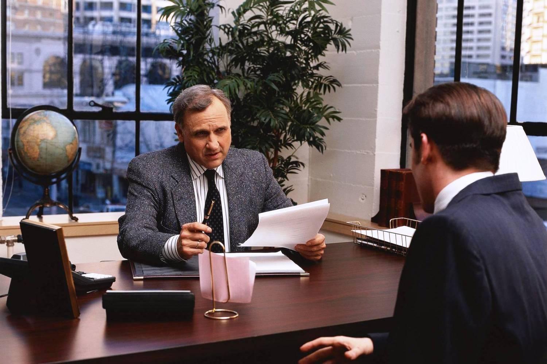 В кабинете директора