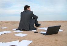 Уход с работы в отпуске