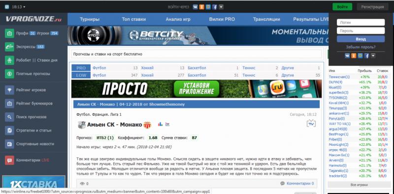 Vprognoze.ru