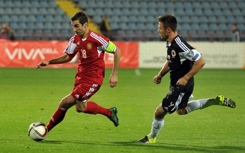 Сборная Албании победила сборную Армении