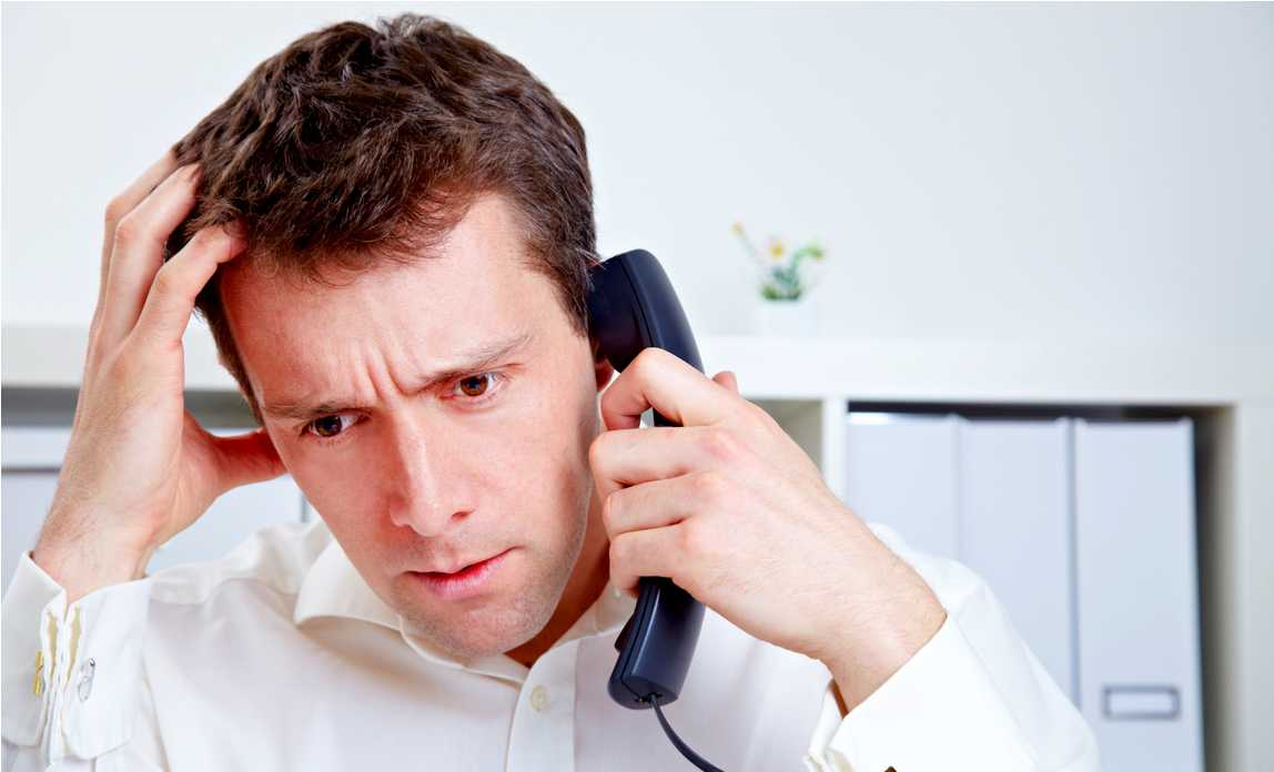 Общение с коллектором по телефону