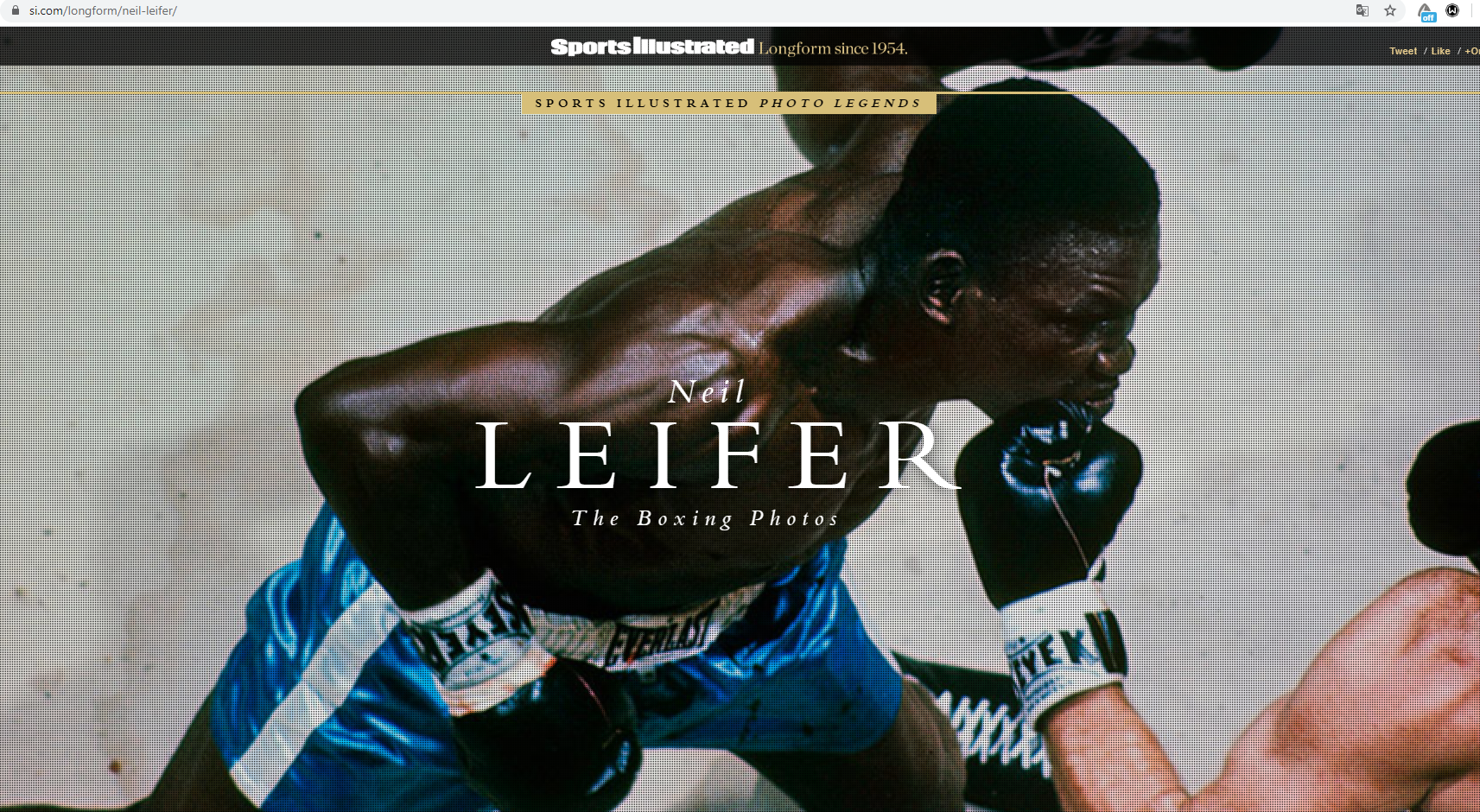 Neil Leifer: The Boxing Photos,