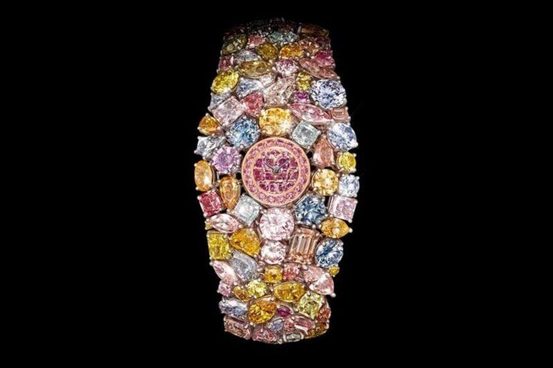 Часы Chopard весом 201 карат